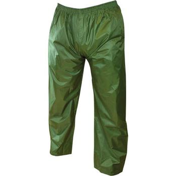Children's Water Resistant Over Trousers Pack away StormGuard Olive Trouser