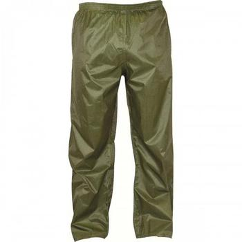 Stormguard Trousers Water Resistant Lightweight packaway Olive green Over Trousers