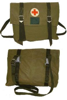 New Un Used Swedish Military Issue Medics Bag