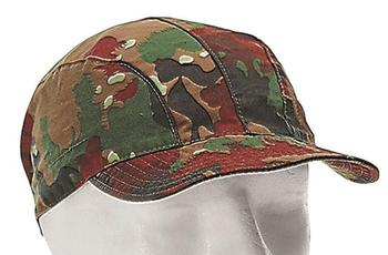 Swiss Alpenflage Camo Drill Cap Lightweight M83 Field cap Used Grade Genuine issue