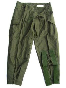 Genuine Belgian / Dutch Army Issue Vintage heavy weight Seyntex trousers Dated from the 1960`s