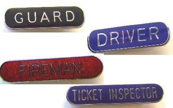 Train Pin On Badge Selection Of Different Train Pin On Job Badges