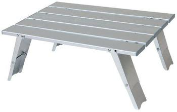 small slat table lightweight and compact fold up aluminium trekkers table surplus and outdoors. Black Bedroom Furniture Sets. Home Design Ideas