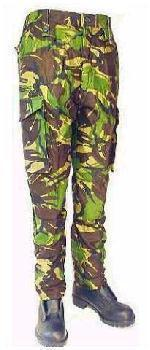 New Army Unissued 1985 Pattern 1/2 Lined DPM Combat Trousers