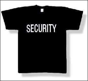 New Quality Security T-shirt 100% Cotton