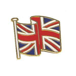 Uk Flag Pin Badge