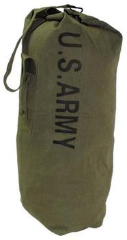 Kit Bag U.S. Army Style Olive Green Large Size New Cotton Sea sack / kit bag