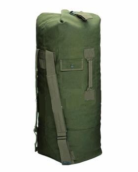 Large Kit Bag / Sea Sack Double Strap Heavy Duty Large Size Cotton Canvas, New