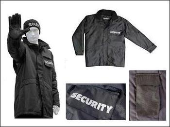 Heavy Duty Long Viper Security Coat with Lots Of Features