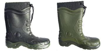 Lined Boots Warm fleece lined toggle top Boots Black Or Green W243