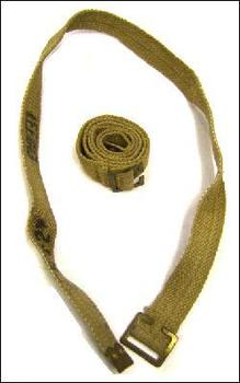 WWII 37 Pattern 30 Inch Webbing Strap with Brass Buckle