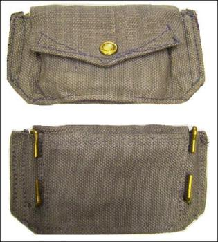 RAF Ammo Pouch Genuine RAF 1950's and WWII Dated Ammo Pouch