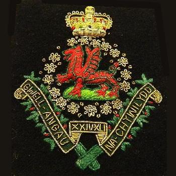 Welsh Blazer badge