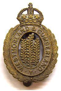 Westmorland and Cumberland Yeomanry Cap Badge