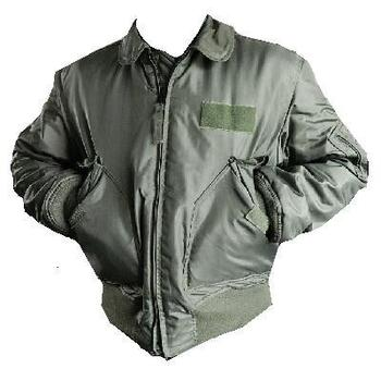 Genuine US Airforce Sage green Cold Weather Flyers Jacket, MA-2 Bomber CWU 45P New