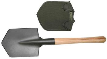 Spade Strong robust wooden Handled Military Style Spade with cover - Loft