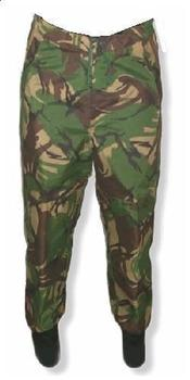 DPM Waterproof Over trousers Genuine British Army Issue DPM PVC Waterproof Trousers, Graded