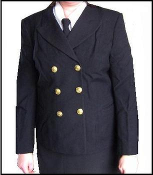 Ladies WREN's WWII Style Jacket with Kings Crown Buttons