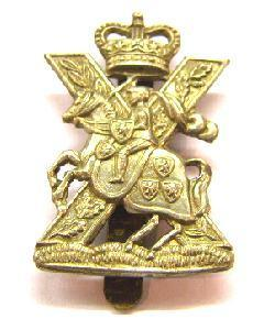 Scotish Cap Badge Fife and Forfar Scottish Horse