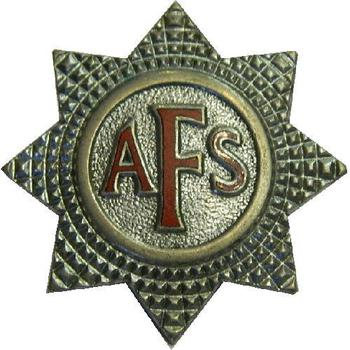 AFS Badge, Auxillery Fire Service cap badge