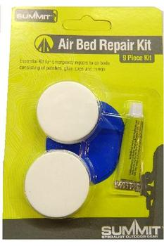 Air bed Repair kit 9 piece, patch, glue & bungs