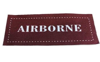 Printed Airborne Sew on Patch