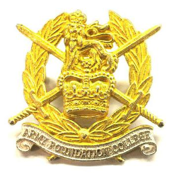 Army Foundation college cap badge
