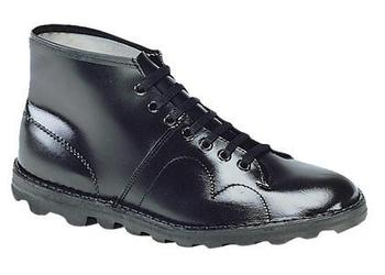 c8c41d41866 Monkey Boots, New Classic Original Black Leather Monkey Boots (B430A)