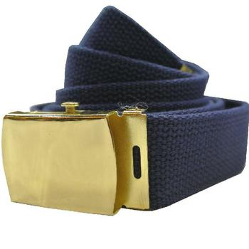 Military issue Blue webbing 30mm belt with buckle