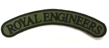 Royal Engineers Cloth Shoulder title