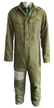 Coverall Combat Vehicle Crewman Olive green Flame Retardant Overall, USED