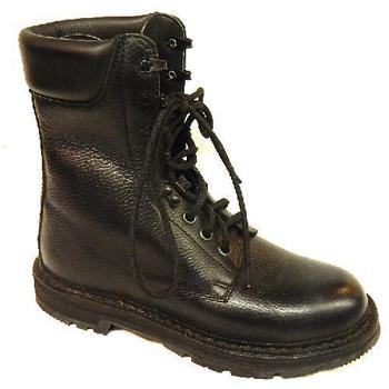 Dutch M90 Boots Black Leather Old Style Vintage Dutch military Army Issue  High Leg Boots