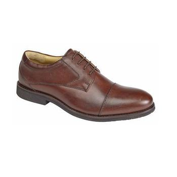 Brown Military Officers Style Gibson Shoes 02133828d1b
