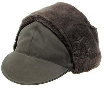 a1bf71bd6bd Cold Weather Trapper hat German Dutch Warm ski cap with fold down ears