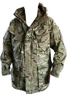Genuine British Army Surplus MTP Camouflage Windproof Combat Smock Grade 1 /& NEW