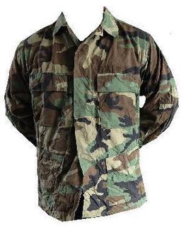 85943401370 U.S. Army BDU Woodland Ripstop Field Shirt