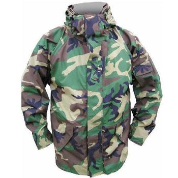 US Woodland Camo Goretex Jacket Genuine U.S. Military Issue ECWCS Cold  weather Breathable Waterproof Gortex Parka 3f156c4b3