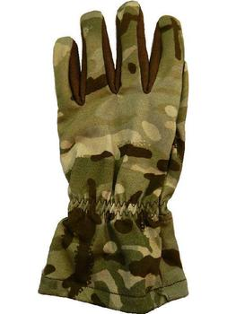 BRITISH ARMY SURPLUS GORE-TEX WOODLAND MTP OUTER WATERPROOF COLD WEATHER MITTS