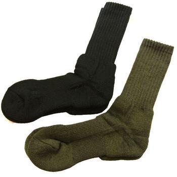 Norwegian Army socks 80% Wool Sock in Black or olive (SOC084) 9ff2b768d422