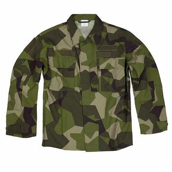 Swedish M90 Lightweight Splinter Camo jacket / Shirt Brand New
