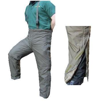 Olive Green Fully lined Gortex bib brace trousers