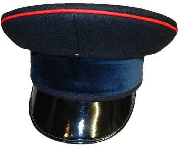 Military Officers Dress Cap With Blue Band - logistics