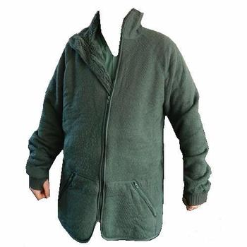 Helly Hansen Wool Fibre Pile Military Issue Olive Green Fleece