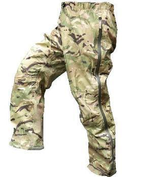 MTP Multicam MVP / Goretex Lightweight Paclite Issue waterpoof Breathable Overtrousers, New