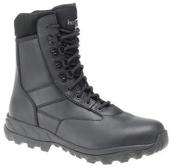 Combat Safety Boot Grafters Tornado Black Water Resistant Combat Boot With Safety Toe (M867A)
