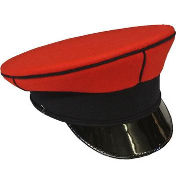 QRL Queens Royal Lancers Male Red Top Dress hat / Cap, New