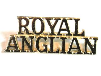 Royal Anglian staybrite Shoulder title