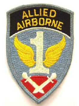 Cloth badge of the 1st Allied airbourne Army