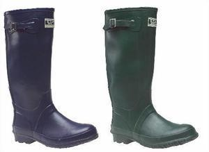 Ladies Fitting Quality Rubber Strap Wellingtons