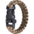 Para Cord Bracelet Web-tex Tactical Wrist band with survival whistle